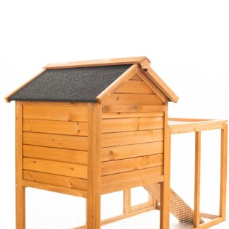 Wooden Pet House Gray