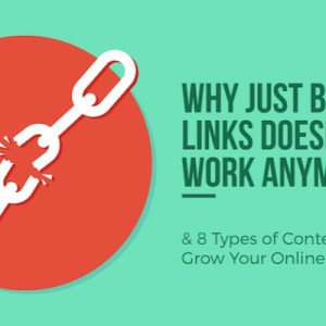 Why Just Building Links Doesn't Work Anymore