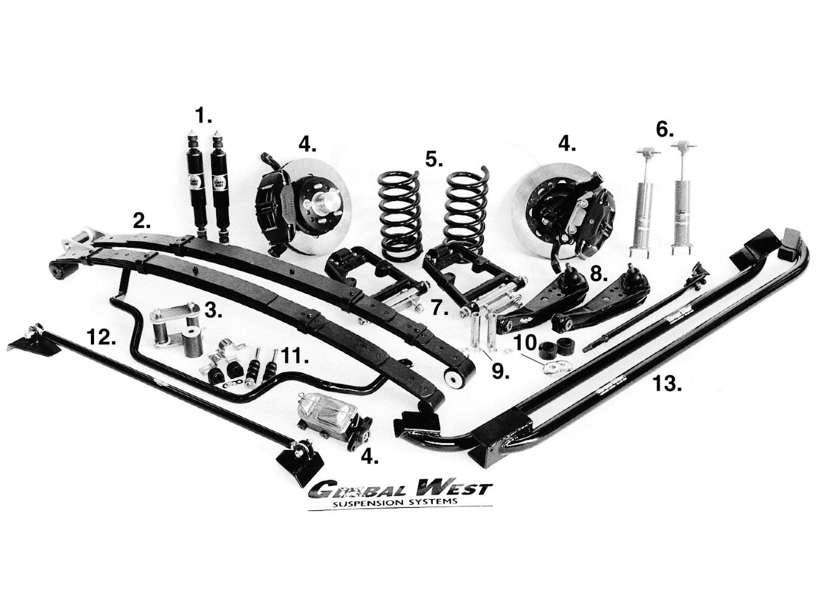 Drag Racing Suspension Packages