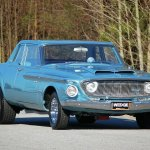 1962 Dodge Dart Tire Shredding Tribute