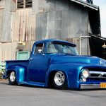 This Slammed 1956 Ford F 100 Is A One Man Backyard Build Have You Ever Tried This