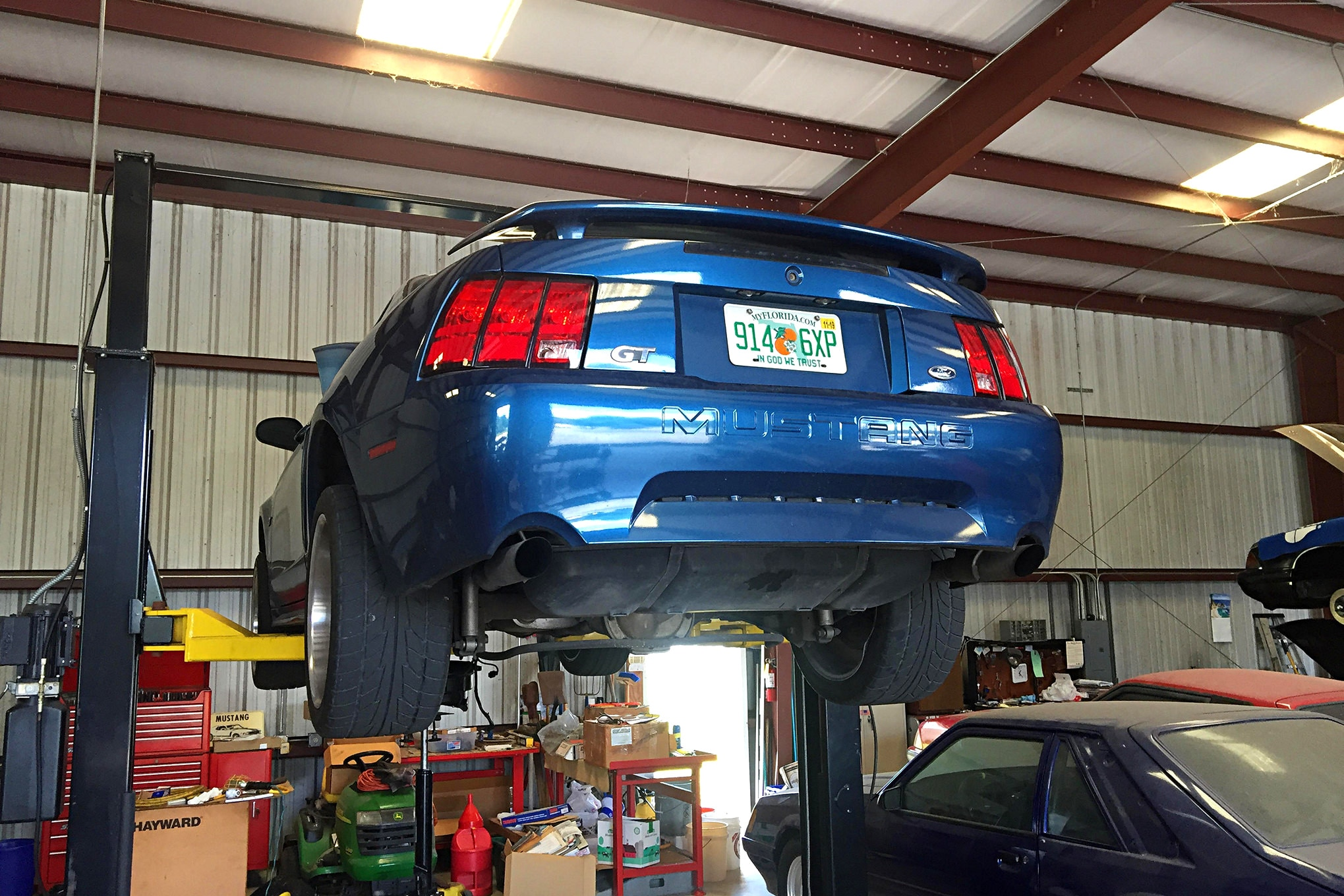 drew johnson s 2000 mustang gt gets a