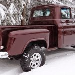 1955 Chevy Pickup 4x4 Is A Restored Classic Truck A Hot Rod And An Off Roader