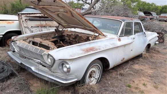013 1962 dodge police car