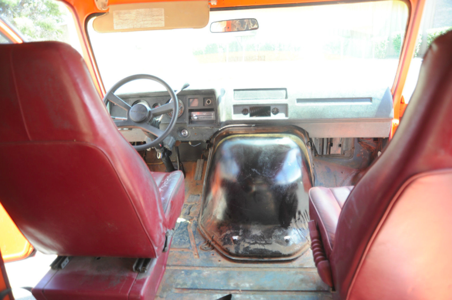 Van 1979 Chevy Interior