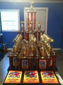 car trophies