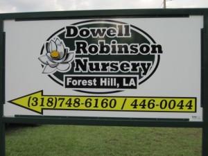 dowell robinson nursery signage