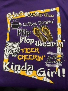 lsu kinda girl