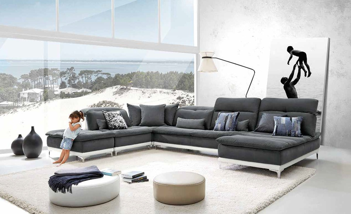 sectional couch modern