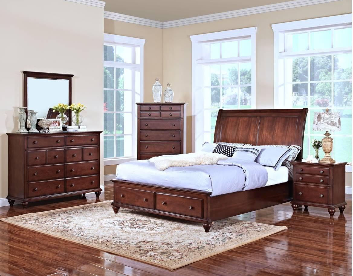 Modern Eastern King Size Bed Footboard Base Storage 2