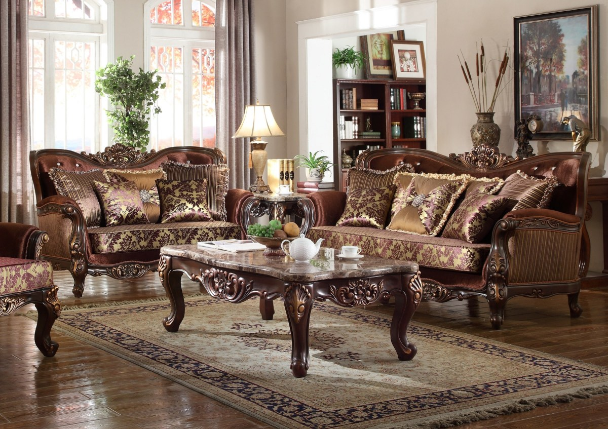 Cherry Sofa Amp Love Seat Living Room Furniture Hot Sectionals