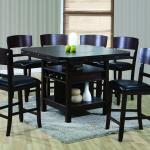 7 Couter Height Table 6 Chairs Uph Espresso Hot Sectionals