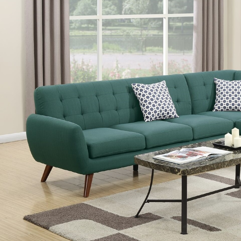 New Sectional Laguna Sofa Chaise Linen Couch Hot Sectionals