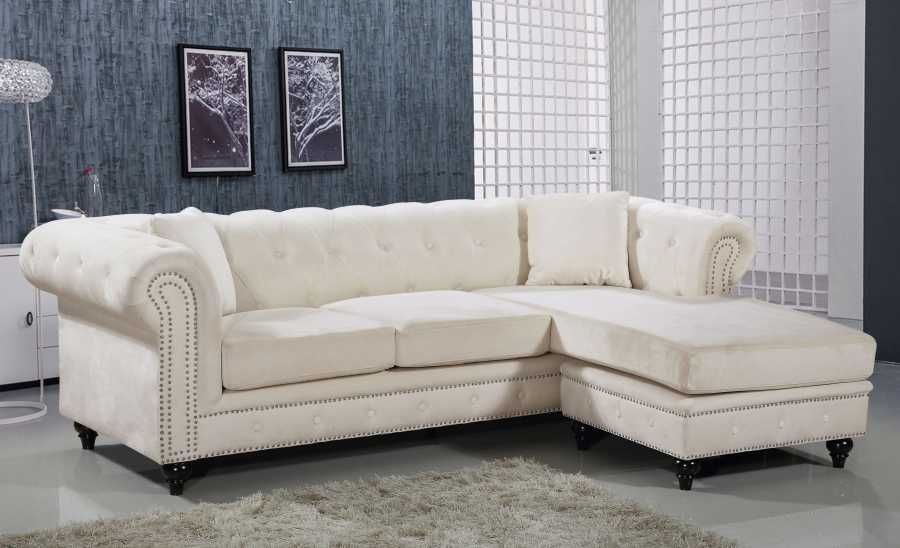 Sectional Lounge Leather Chaise