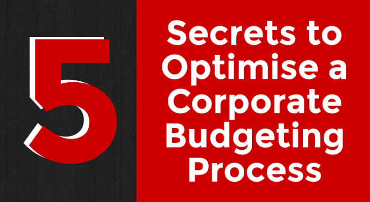 Title picture to corporate budgeting process article