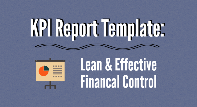 Head picture to article about KPI report template