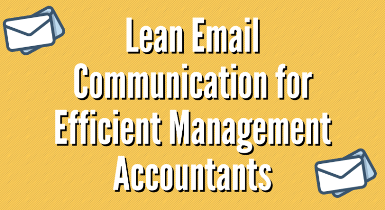 lean email communication article title image