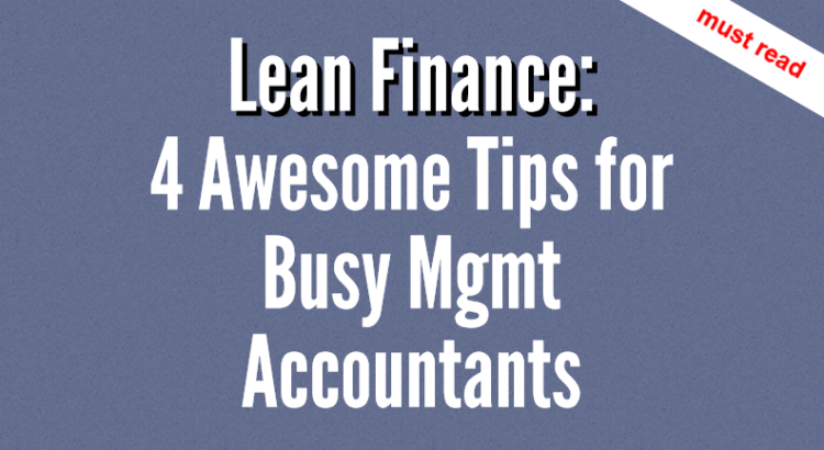 Lean finance title image
