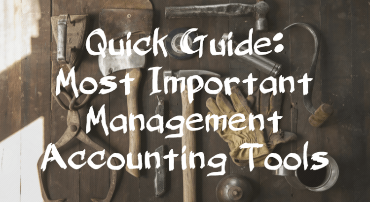 Management accounting tools: Title image