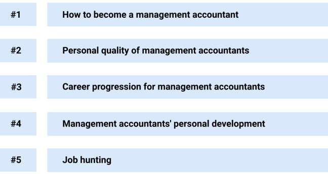 5 areas on how to become a sucessful management accountant