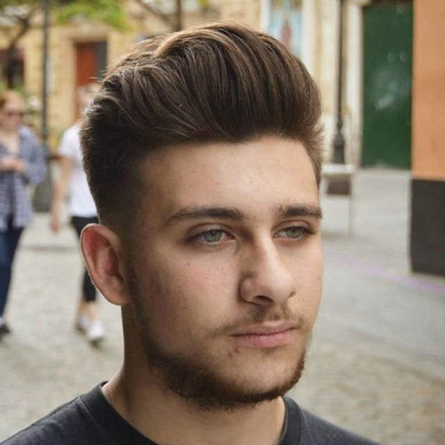15 men's hairstyles for round faces - haircuts & hairstyles 2019