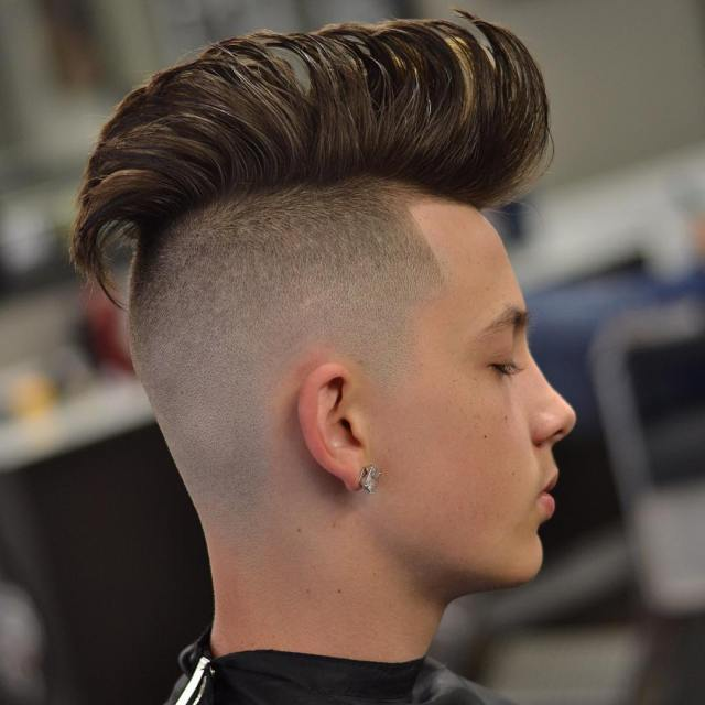 15 mohawk hairstyles for men to look suave - haircuts