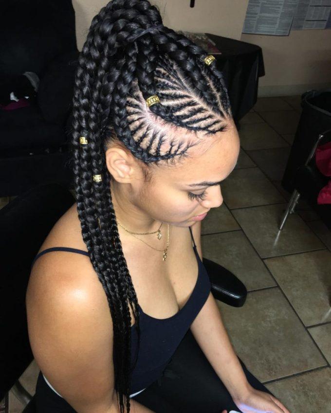 20 impressive ghana braids for an ultimate diva look