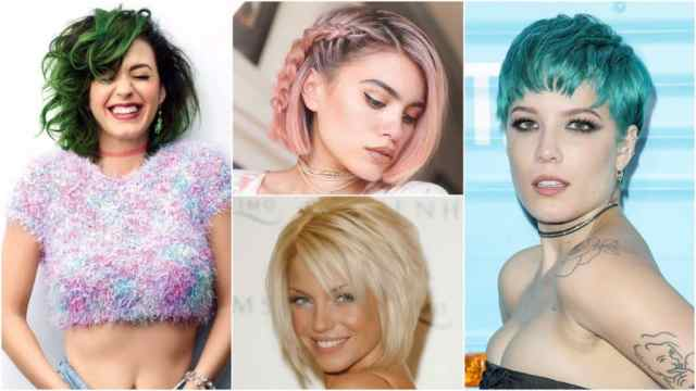 25 best colors for short haircuts - let your hair color