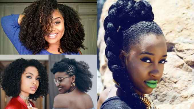35 natural hairstyles to glam up your look - haircuts