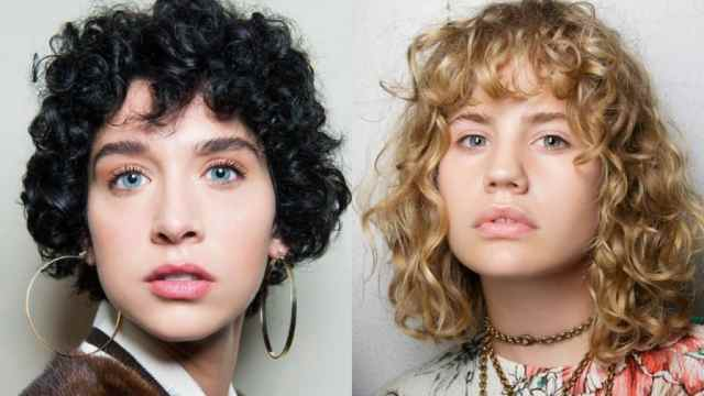 20 most outstanding curly hairstyles with bangs - haircuts