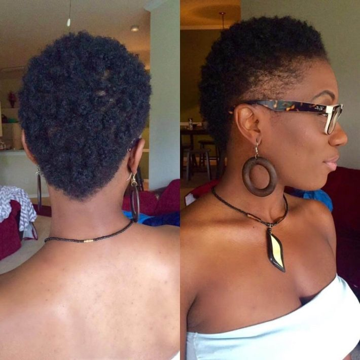 25 fade haircuts for women- go glam with short trendy hairstyles