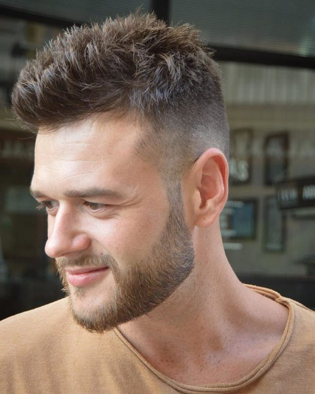 24 ultra modern short hairstyles with beard - haircuts