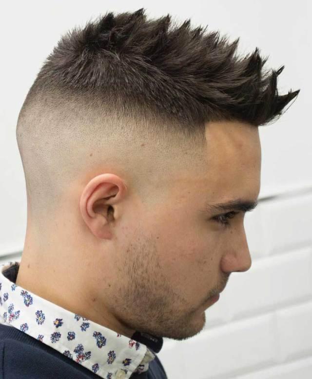 21 stunning fohawk hairstyles for men this season - haircuts