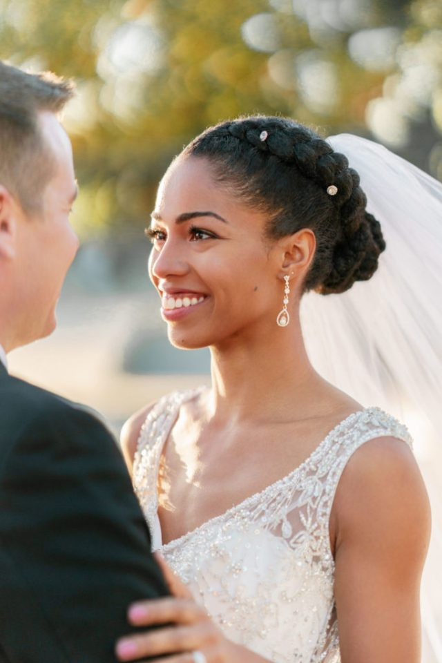 21 most beautiful natural hairstyles for wedding - haircuts