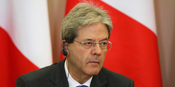 Paolo Gentiloni, prime minister of Italy