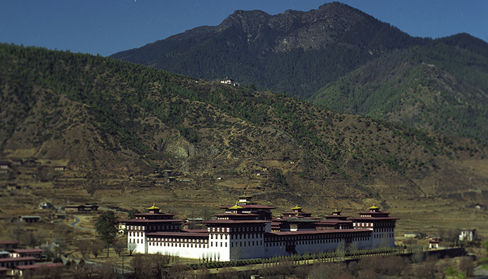 Bhutan government building