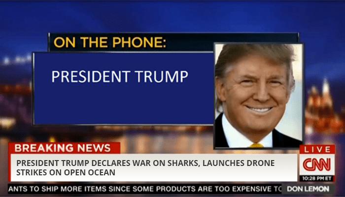 President Trump news clip