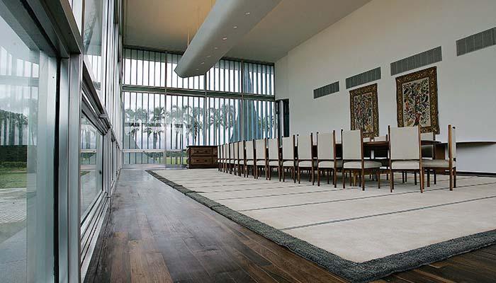 Palacio da Alvorada banquet hall