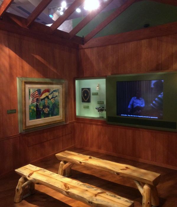 Camp David cabin