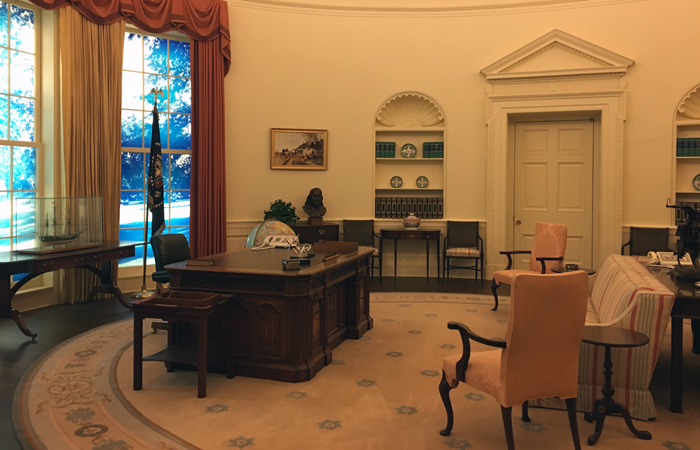 Recreation of Jimmy Carter's Oval Office