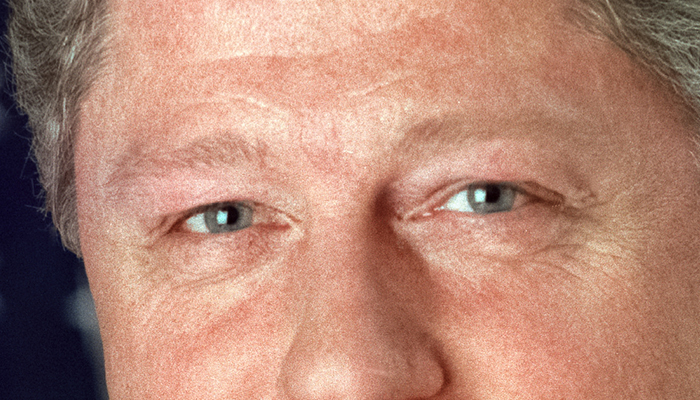 Bill Clinton's eyebrows