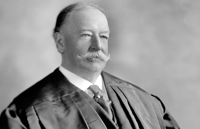 William Taft as Supreme Court justice