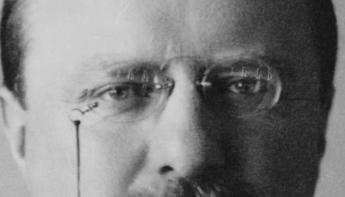Theodore Roosevelt's eyebrows