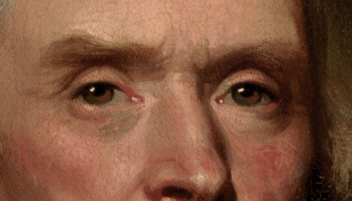 Thomas Jefferson's eyebrows