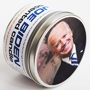Joe Biden-Scented Candle