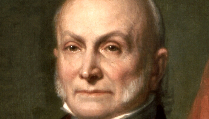 John Quincy Adams's eyebrows