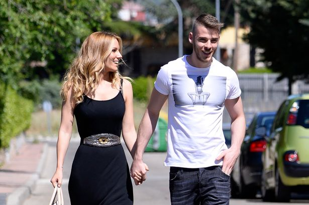 Image result for David De Gea and Edurne Garcia