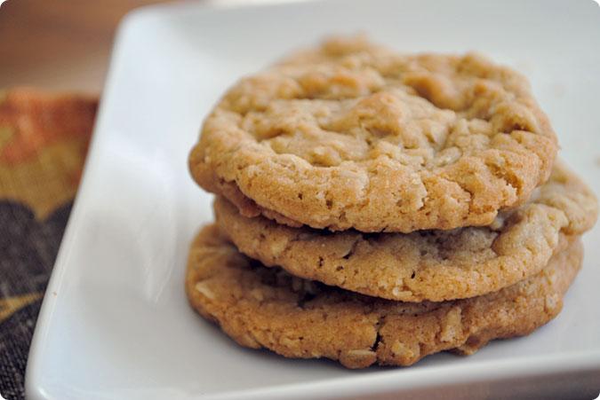 brownbutteroatmealcookies