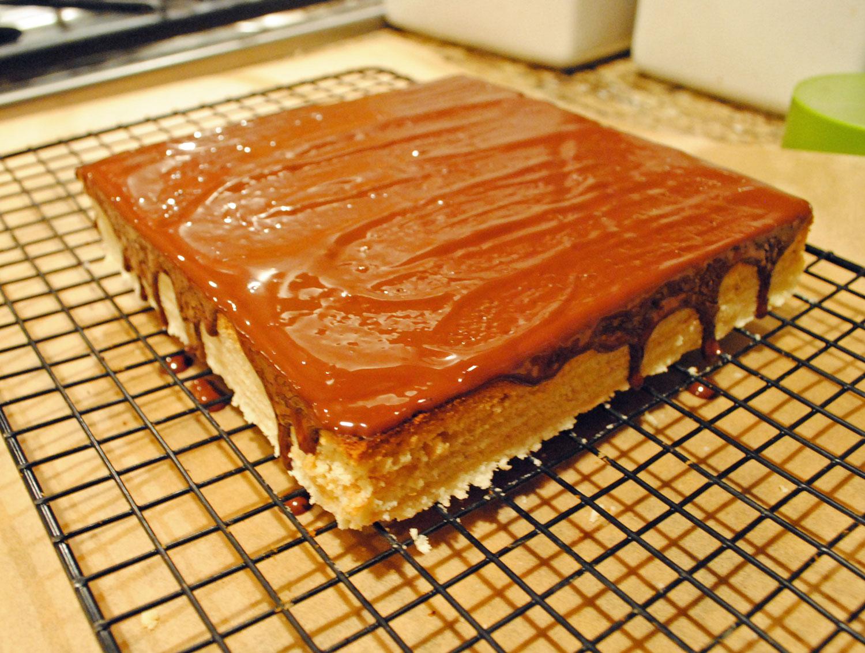 Daring Bakers Baumkuchen Hottie Biscotti