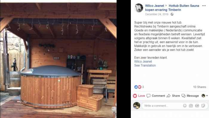 Wilco Jeanet‎ Hottub Kopen TimberIN SPA